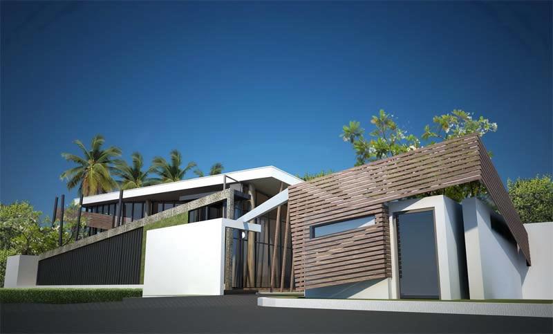 ผลงานออกแบบบ้านของ